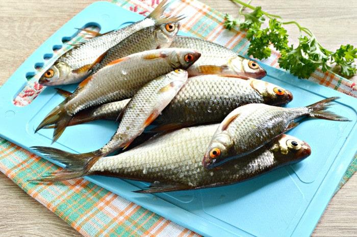 маринуем речную рыбу